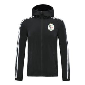 2020 argélia jaqueta equipe nacional hoodies Windbreaker treino camisas de futebol blusão soccer casaco de inverno com capuz Correndo Jackets