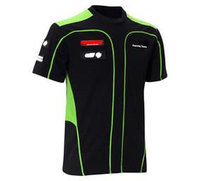 Neue Schnelltrocknung Racing T-Shirt Sommer Atmungsaktive Motorrad Reiten Kurzarm Downhill Kleidung Moto Auto Fan Top