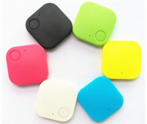 por DHL ou Fedex 100pcs Car Smart Mini Bluetooth GPS Tracker para crianças Permite animais Chaves Carteira de alarme Locator Localizador de dispositivos Acessó DKY7 #