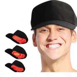 Controle Oil crescimento do cabelo Hat Cap perda de cabelo ajustável Terapia Instrumento de Tratamento Hair Care Anti perda de produto para as Mulheres Homens