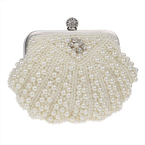 OCARDIAN New Fashion Womens Pearl Evening Handbag Party Clutch Purse Shoulder Bag Ladies Evening Bags Ladies Bolsos J22