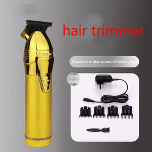 Herren Elektrische Haarschneider Öl-Kopf-Haarschneider Schnurloser Rasierer Metallschnitzer Rasierer Wiederaufladbare Friseur Schneidemaschine