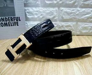 Fashion Big buckle genuine leather belt with box designer belts men women high quality new mens belts