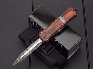 бабочка A021 D2 лезвие 9inch автоматические ножи двойного действия Складной карманный нож выживания Xmas подарок Нож карманный инструмент BMF