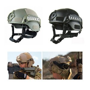 Bicycle Cycling Helmet Airsoft Military Tactical Combat Cap Hat Riding Hunting Outdoor Cycling Equipment