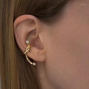 Женские клипсы на задних серьги с верхом с легким открытым петли DIY Серьги Ювелирные Изделия Мода Леди Серьги1
