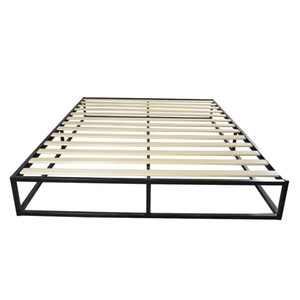 Whosale Home Мебель Простые Основные железные кровати кадр Взрослый Дубитель и безопасная платформа