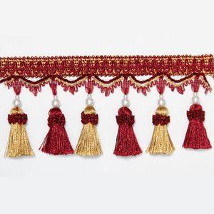 1 m Beutel Quaste Vorhang Fransen Dekorative Vorhang Trimmstanzen Fransen Vorhang Zubehör Lace Trim 1 M Bag H Jllrtl