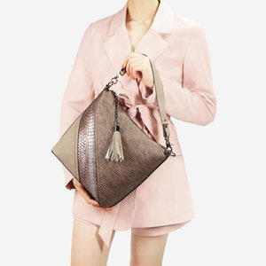 SGARR High Quality PU Leather Women Messenger Bags Fashion Ladies Serpentine Patten Shoulder Bags Casual Female Crossbody Bag