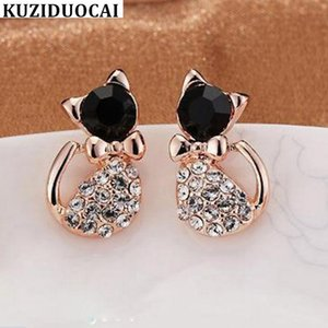 "Kuziduocai new jewelry store"" ""imitation diamond cat"" ""lovely and charming lovely earrings"
