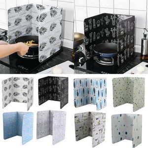 Oil Splatter Screens Kitchen Gadgets Aluminium Foil Plate Gas Stove Splash Proof Baffle Cooking Tools Kichen Accessories Home