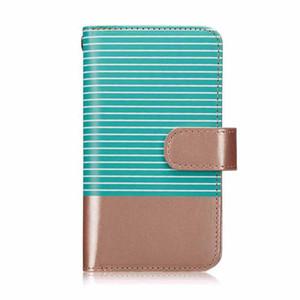 Cuero magnético de la PU 2 en 1 Funda de raya para iPhone 6S 6 7 8 Tapa del teléfono portátil de la tarjeta de la tarjeta para iPhone XS MAX XR X 7 8 PLUS