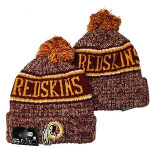 2020 Fashion All Team Baseball Washington Beanies Team Embroidered Cuffed Knit Hat Sport Skull Knitting Winter Hats for Men Women a7
