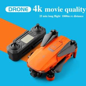 2020 Novo Drone 4K GPS 5G WiFi Dois Eixo Câmera Gimbal Motor Suporta voo de cartão TF para 25 minutos Icat7 vs SG906 Pro