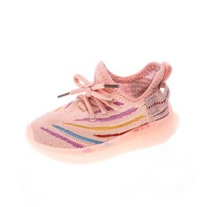 Autunno nuovo 2020 scarpe da bambino led scarpe casual scarpe da corsa scarpe da corsa per bambini scarpe da ginnastica per bambini trenatori per bambini sneakers ragazze sneakers B1748