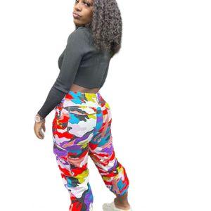Dslm AGHI 3 colori Stripe Uomini farfalla ricamata lato fashion Pantaloni sportivi donne di alta pantaloni con coulisse Pantaloni Long Street