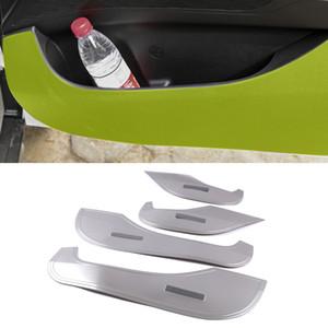 For Hyundai IX25 Creta SU 2019 2020 Car Accessory Stainless 4-Door Anti-kick Pad Cover Trim Frame Interior Decoration Molding