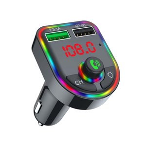 Auto Bluetooth MP3-Player Smart Bluetooth 5.0 Chip U-Festplatten / TF-Kartenstecker und -spiele verlustfreie Musik 4.1A Schnellladungsnavigation-Sprachübertragung