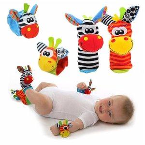 Dibujos animados recién nacidos calcetines bebé correa de muñeca linda ratones bebé niños juguetes 0-24m niños calcetines de animales de peluche regalo de juguete de felpa niño suave y201009