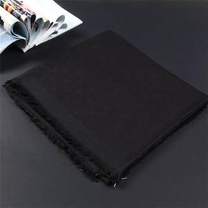 Lenço de inverno unisex lã lenço clássico letra wrap unisex senhoras cashmere xale original lenço 140x140cm