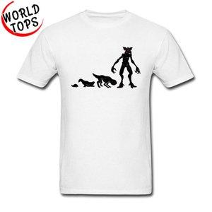 Demogorgón Evolución 3D camiseta impresa Extraño cosas nuevas de la manera del otoño del verano Camiseta del deporte de Montauk hombre Sudadera con capucha