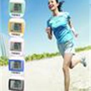 Waterproof Multi-Function Digital Pedometer Walking Meter Fashion Screen