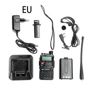 Kablosuz El Walkie-Talkie UV-5Re Kulaklıklarla Profesyonel Walkie-Talkie 5re Yüksek Güçlü Kablosuz Sivil1