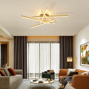 Nordic Golden Line Люстра Гостиная Столовая Современная бытовая роскошь свет Спальня Потолочное освещение