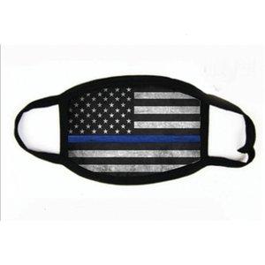 Masken Saliva Anti-Nationalsonnenschutz Druck Flagge Staubmundschutz atmungsaktiv Gesichtsmaske Mascherine Us Kanada Japan 2 7BR E19 # 502