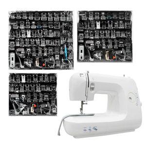 32/42/62 Pies Piezas Para el hermano del cantante Janome Sewing Machine bricolaje Presser máquina de coser pie prensatelas