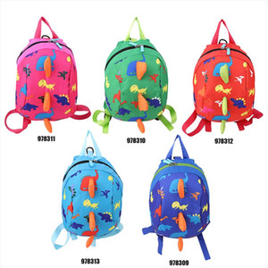 Dinosaur Print Backpack For Boys Children backpacks kids kindergarten Small School Bag Girls Animal Anti lost School Bags