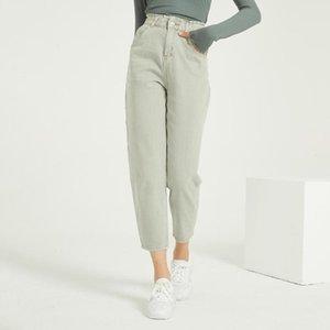 Wixra Casual Kadın Femme BF Denim Pantolon Yüksek Bel Kot Pantolon Yaz Bayanlar Streetwear Jeans Cepler