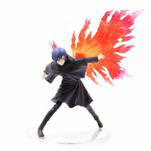 26 cm amina Tokio Ghoul Touka Kirishima Figura de acción PVC Touka Kirishima Figuras Toys Figurine Muñeca Colección Modelo X0121