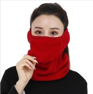 Maske Nefes Eşarp Kış Sıcak Earmuff Yüz Koruma Katı Açılabilir Yüz Maskeleri Sürme Koruma Toz Geçirmez Parti Maskesi HWB2532