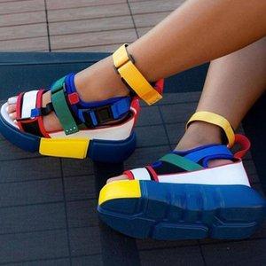LAPOLAKA 2020 di marca di modo INS vendita calda multi colori di grande formato 44 Scarpe Donna casuale piatto comodo freddo sandali femminili