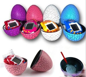 Tamagotchi Tumbler Toy Perfect For Children Birthday Gift Dinosaur Egg Virtual Pets on a Keychain Digital Pet Electronic Game DHL Free
