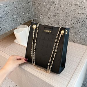 Borsette, sacche all'ingrosso Crossbody spalla quadrati Messenger Bags The New Versatile moda semplice Alligator retro stile catena di borsa