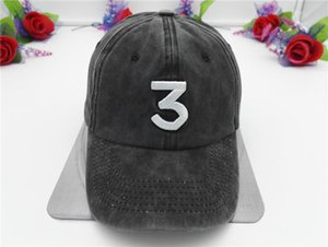 2020 CHANCE 3 The Rapper Hat Dad Hat Baseball Cap Hip Hop Street Wear Skateboard Snapback Sun Hat