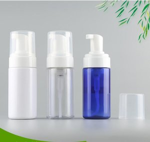 50ml Classic Press Pump Foamer Bottle Portable Travel Foam Liquid Dispenser with Black & White Pump Top