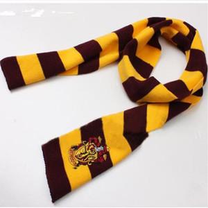 Harry Potter Scarf Gryffinder Slytherin Raven Crouch Badge College