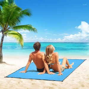 1.5X2m Tarp Airbed Camping Mat Waterproof Beach Blanket Outdoor Portable Picnic Ground Mat Camping Picnic blanket1