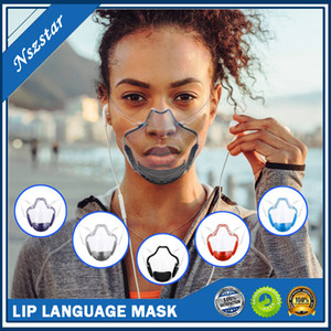 Clear transparent plastic washable reusable  facemask facial shield face mask breathable mouth cover hygiene anti fog with filter