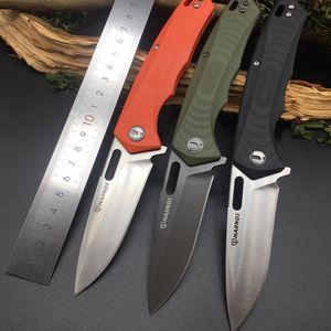 Harnds CK6118 Castor AUS-8 лезвия G10 Handle Складной нож HRC58-59 Открытый кемпинга выживания Военный EDC инструмент выживания в лесу Ножи