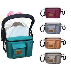 Stroller Handle Bag Cup Holder Organizer Bottle Holder Newborns Diaper Bags Waterproof Pram Buggy Baby Stroller Accessories