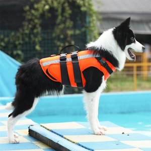 Pet Dog Life Jacket Safety Clothes Life Vest Swimming Clothes Swimwear for small big dog Husky french bulldog dog accessories 201109