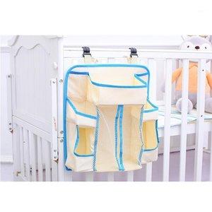 Kreş Organizatör Bebek Bezi Caddy Asılı Organizasyon Saklama Çantası Crib WWO661 için