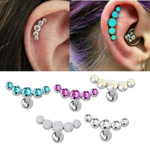 1 Piercing Accessori Orecchini Ear Nail pezzo di orecchio unghie