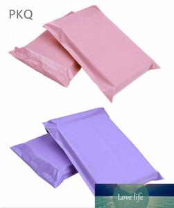 100 adet 17 * 30 cm Kullanılabilir Boyutu 17 * 25 cm Çok renkli Poli Kabarcık Mailer PE Plastik Yastıklı Zarf Nakliye Çanta Posta Çantaları