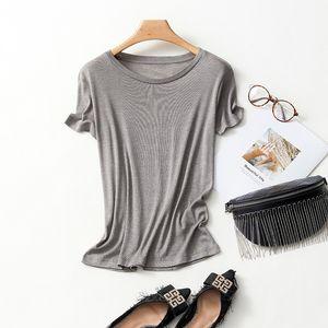 2020 Women Designers Clothes Wholesale Christma Soft Tee Shirt Crew Neck Loose Summer Fashion T Shirt Short Sleeve Femme Lady Feminina Tops