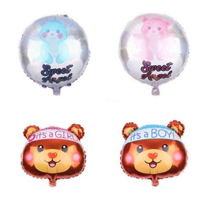 18inch Baby Boy Bear Or Girl Blue Pink Bubble Bear Foil Balloons Birthday Baby Shower Decorations Kids Toys Ball In Ball qylBhr bdetrade